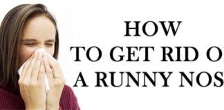 10 Ways To Get Rid Of Runny Nose